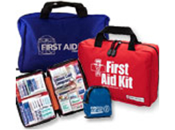Image of compilation of soft first aid bags