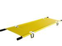 Numerous different types stretchers. Easy EVAC Roll, Collapsible Fold Up, Swiss Folding Chair & Stretcher with Folding Legs.