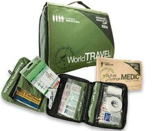 Image of world travel green soft back
