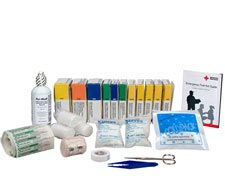 Image of assortment of unitized first aid refills