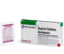 Image of Aspirin Tablets, 5 Grain - 20 per box