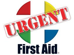 Image of Urgent First Aid Logo