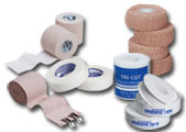 Bandage Wraps and Tapes