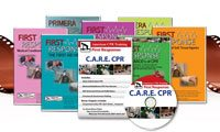 CPR First Aid and Safety Training Products